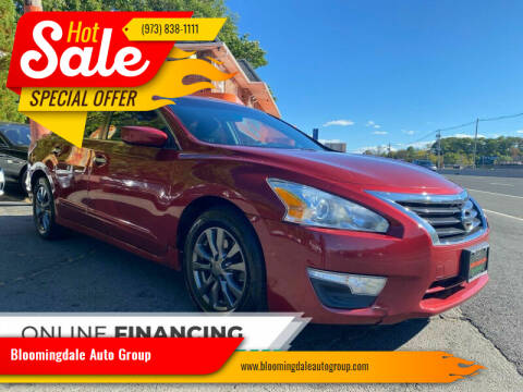 2015 Nissan Altima for sale at Bloomingdale Auto Group - The Car House in Butler NJ