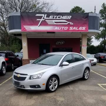 2014 Chevrolet Cruze for sale at Fletcher Auto Sales in Augusta GA