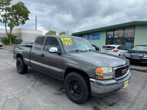 2001 GMC Sierra 1500 for sale at TDI AUTO SALES in Boise ID