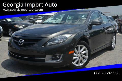 2012 Mazda MAZDA6 for sale at Georgia Import Auto in Alpharetta GA
