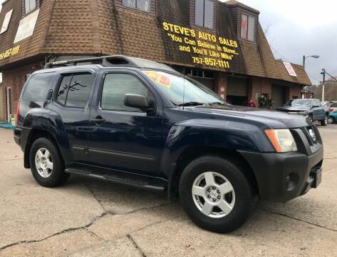 2006 Nissan Xterra for sale at Steve's Auto Sales in Norfolk VA