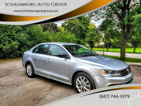 2015 Volkswagen Jetta for sale at Schaumburg Auto Group in Schaumburg IL