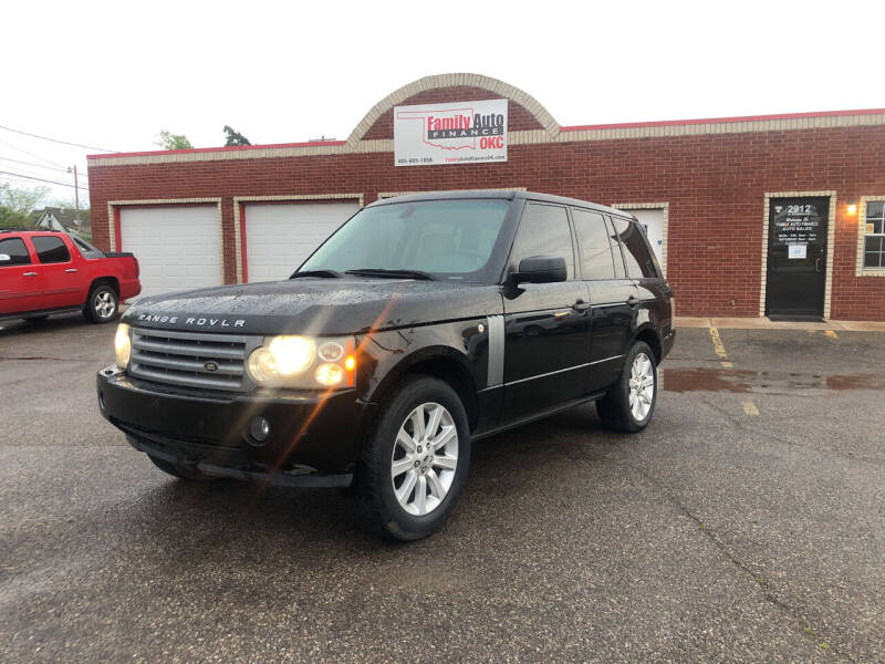 2009 Land Rover Range Rover for sale at Family Auto Finance OKC LLC in Oklahoma City OK