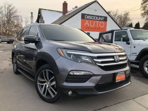 2017 Honda Pilot for sale at Discount Auto Brokers Inc. in Lehi UT