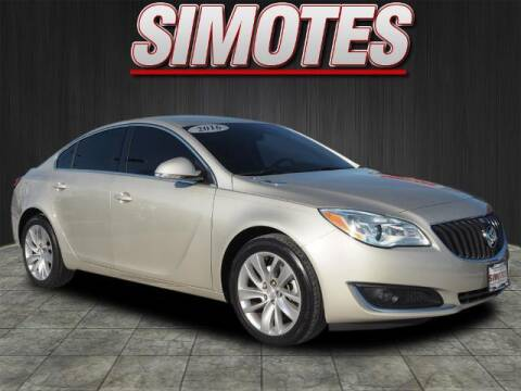 2016 Buick Regal for sale at SIMOTES MOTORS in Minooka IL