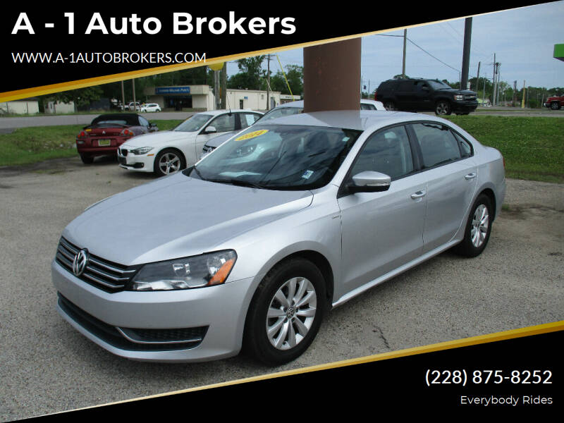 2014 Volkswagen Passat for sale at A - 1 Auto Brokers in Ocean Springs MS