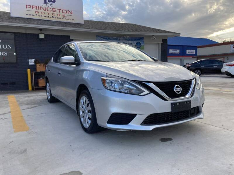 2018 Nissan Sentra for sale at Princeton Motors in Princeton TX