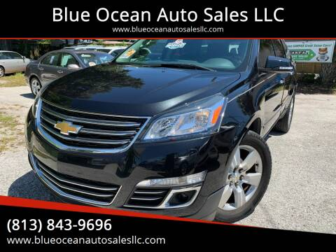 2014 Chevrolet Traverse for sale at Blue Ocean Auto Sales LLC in Tampa FL