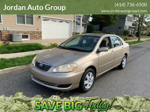 2007 Toyota Corolla for sale at Jordan Auto Group in Paterson NJ