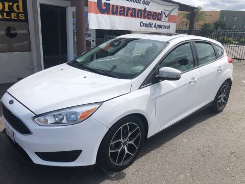 2018 Ford Focus for sale at Concord Auto Sales in El Cajon CA