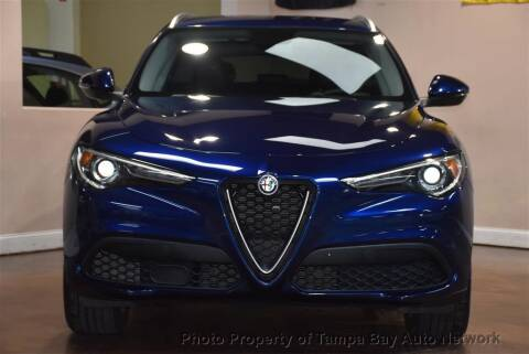 2018 Alfa Romeo Stelvio for sale at Tampa Bay AutoNetwork in Tampa FL