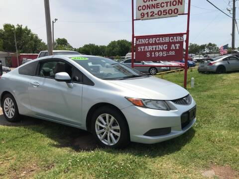 2012 Honda Civic for sale at OKC CAR CONNECTION in Oklahoma City OK