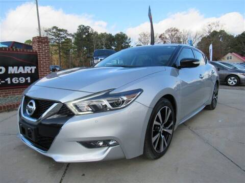 2018 Nissan Maxima for sale at J T Auto Group in Sanford NC