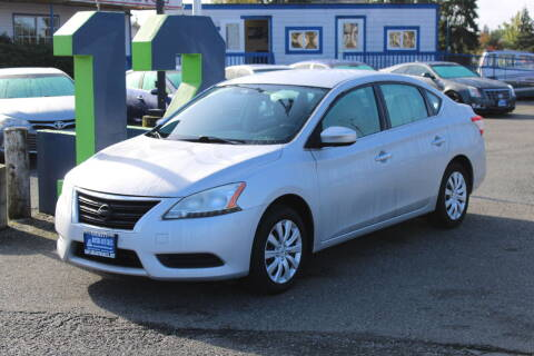 2014 Nissan Sentra for sale at BAYSIDE AUTO SALES in Everett WA