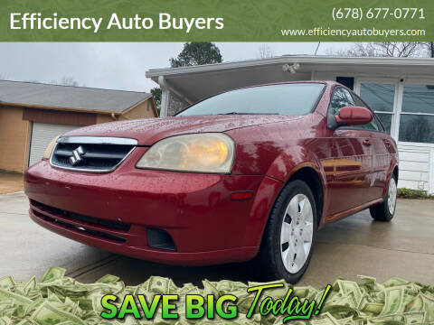 2008 Suzuki Forenza for sale at Efficiency Auto Buyers in Milton GA