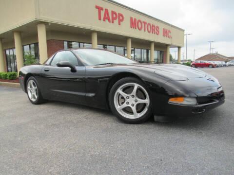 2004 Chevrolet Corvette for sale at TAPP MOTORS INC in Owensboro KY