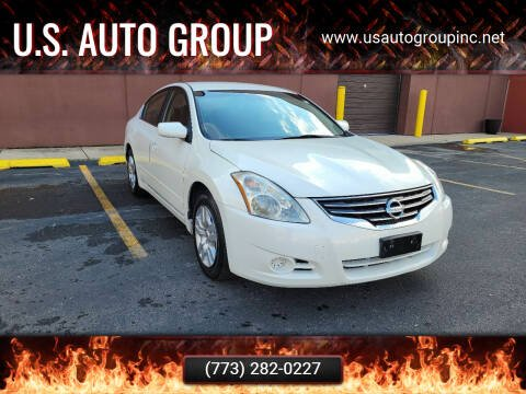 2010 Nissan Altima for sale at U.S. Auto Group in Chicago IL