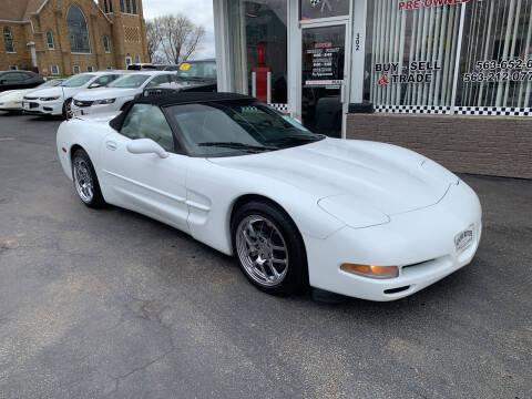 1998 Chevrolet Corvette for sale at KUHLMAN MOTORS in Maquoketa IA