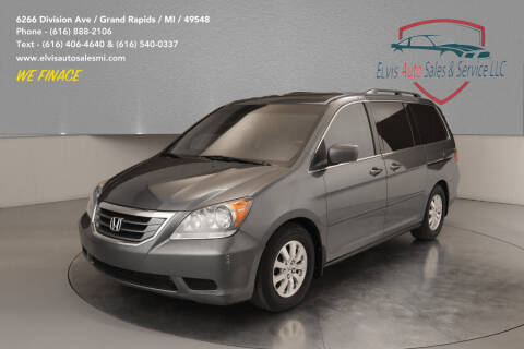 2010 Honda Odyssey for sale at Elvis Auto Sales LLC in Grand Rapids MI