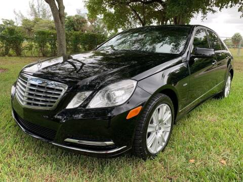 2012 Mercedes-Benz E-Class for sale at Top Trucks Motors in Pompano Beach FL