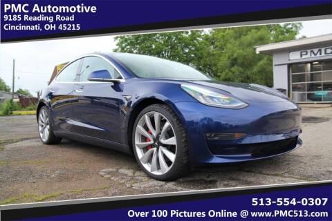 2018 Tesla Model 3 for sale at PMC Automotive in Cincinnati OH