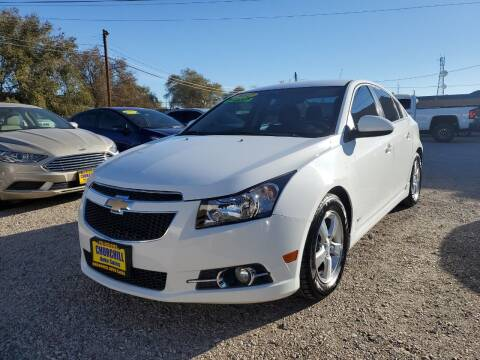 2012 Chevrolet Cruze for sale at CHURCHILL AUTO SALES in Fallon NV