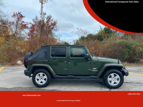 2007 Jeep Wrangler Unlimited for sale at International Horsepower Auto Sales in Warwick RI
