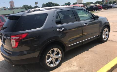 2015 Ford Explorer for sale at Pioneer Auto in Ponca City OK