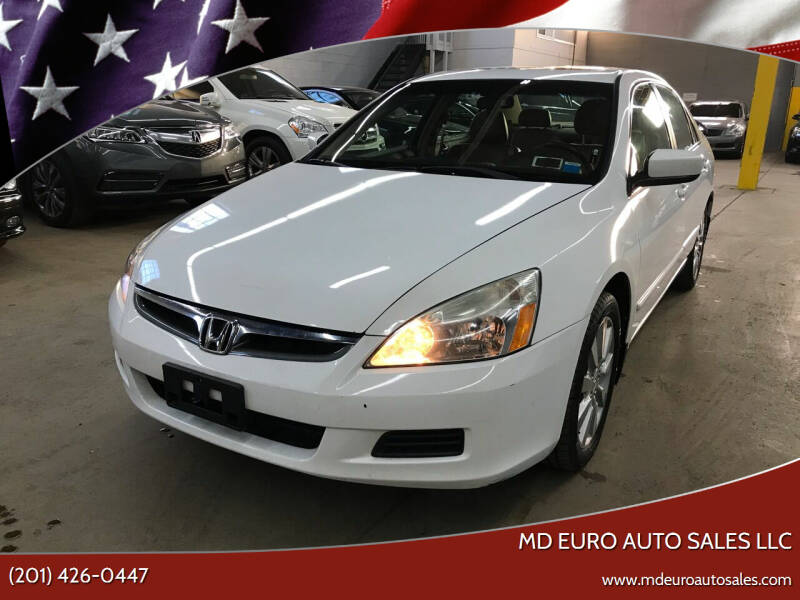 2006 Honda Accord for sale at MD Euro Auto Sales LLC in Hasbrouck Heights NJ