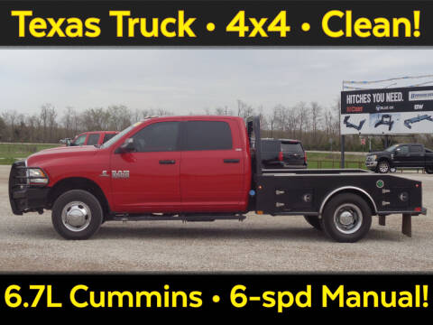 2017 RAM Ram Chassis 3500 for sale at Burkholder Truck Sales LLC (Versailles) in Versailles MO
