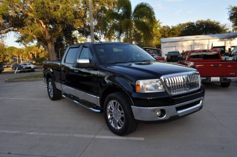 2007 Lincoln Mark LT for sale at STEPANEK'S AUTO SALES & SERVICE INC. in Vero Beach FL