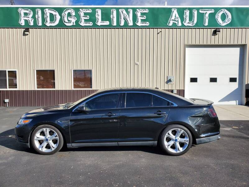 2010 Ford Taurus for sale at RIDGELINE AUTO in Chubbuck ID