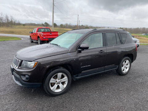 2014 Jeep Compass for sale at Riverside Motors in Glenfield NY