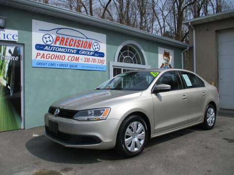 2014 Volkswagen Jetta for sale at Precision Automotive Group in Youngstown OH