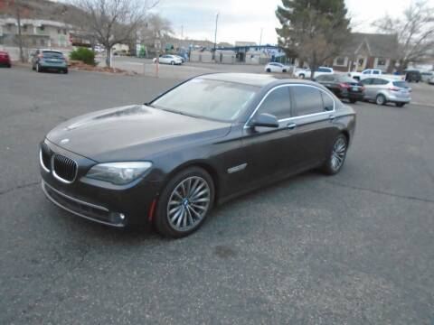2011 BMW 7 Series for sale at Team D Auto Sales in St George UT