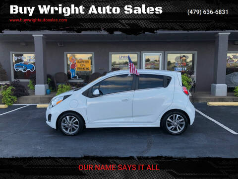 2015 Chevrolet Spark EV for sale at Buy Wright Auto Sales in Rogers AR