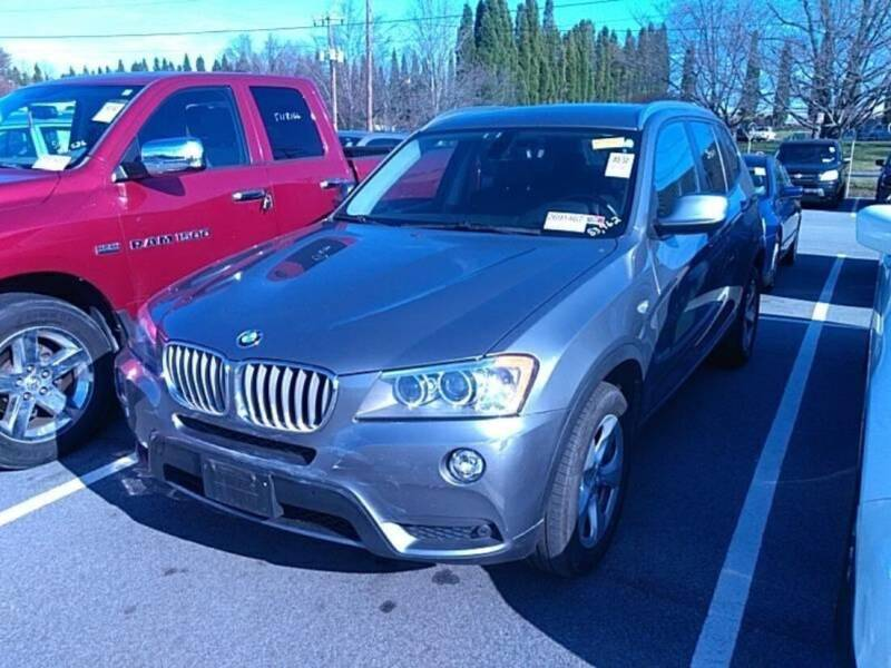 2012 BMW X3 for sale at Performance Autoworks LLC in Havelock NC