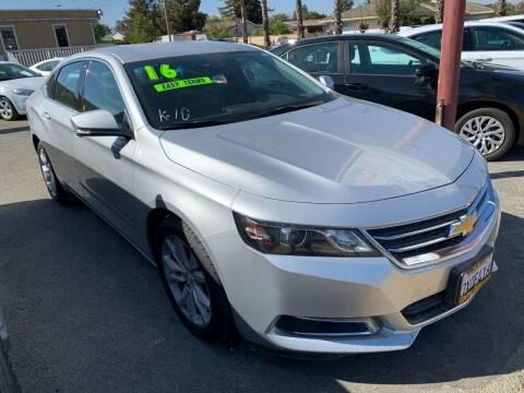 2016 Chevrolet Impala for sale at Contra Costa Auto Sales in Oakley CA