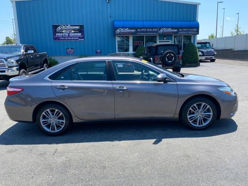 2015 Toyota Camry for sale at Platinum Auto in Abington MA