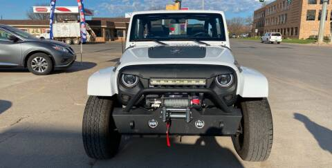 2012 Jeep Wrangler for sale at Mulder Auto Tire and Lube in Orange City IA