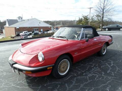 1986 Alfa Romeo Spider for sale at AUTOS OF EUROPE in Manchester MO