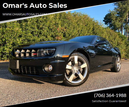 2011 Chevrolet Camaro for sale at Omar's Auto Sales in Martinez GA