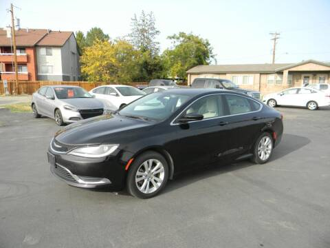 2016 Chrysler 200 for sale at INVICTUS MOTOR COMPANY in West Valley City UT