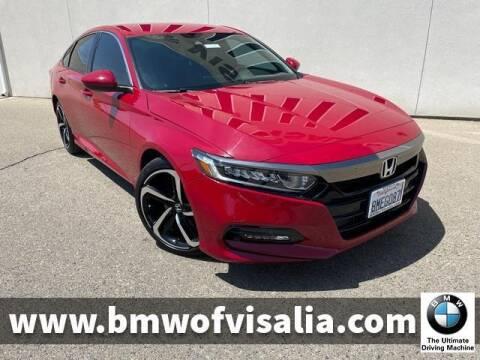 2019 Honda Accord for sale at BMW OF VISALIA in Visalia CA