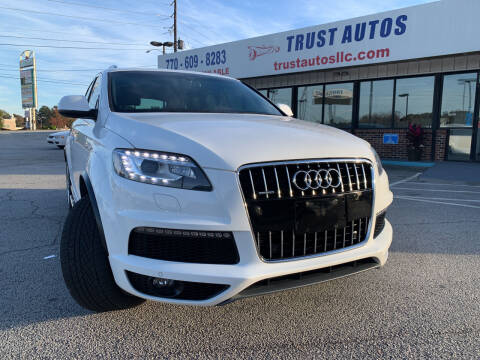 2011 Audi Q7 for sale at Trust Autos, LLC in Decatur GA