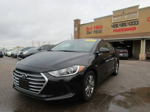 2018 Hyundai Elantra for sale at Import Motors in Bethany OK