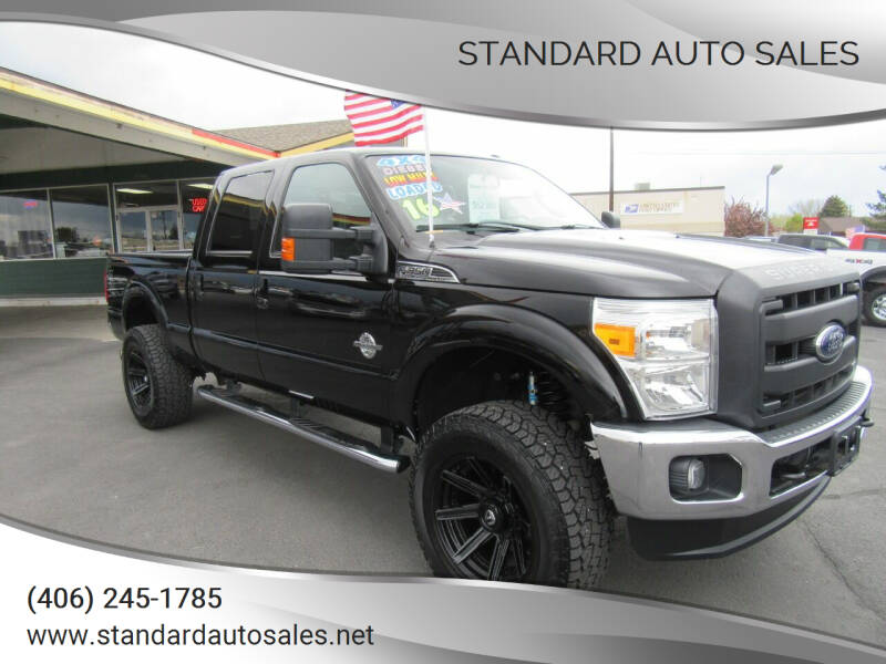 2016 Ford F-350 Super Duty for sale at Standard Auto Sales in Billings MT
