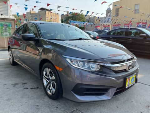 2018 Honda Civic for sale at Elite Automall Inc in Ridgewood NY