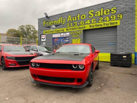 2019 Dodge Challenger for sale at Friendly Auto Sales in Detroit MI