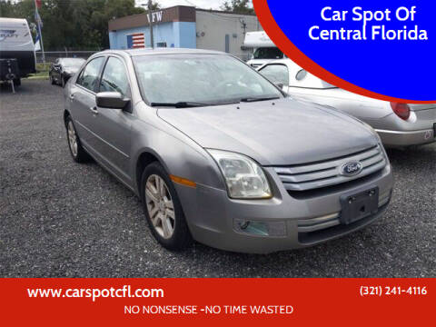 2008 Ford Fusion for sale at Car Spot Of Central Florida in Melbourne FL